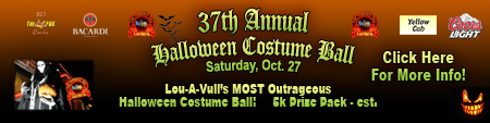 Halloween Costume Ball Banner